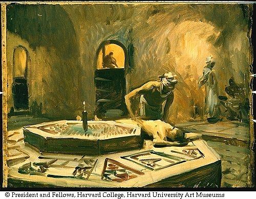 Artworks by John Singer Sargent (578 работ) (1 часть)