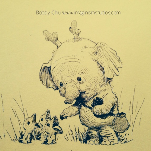 Иллюстраторы - наши современники - Bobby Chiu (Бобби Чиу) (331 работ)