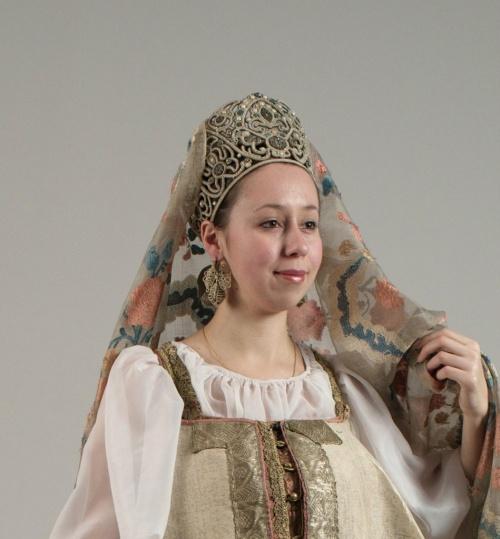 Русский национальный костюм 4 (28 фото)