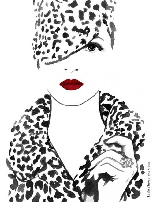 Иллюстратор из Канады Esther Bayer (48 фото)