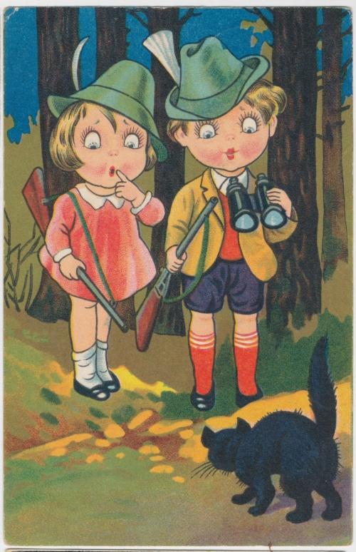 Postcards of the twentieth century - Valentine's Day 11 | Открытки ХХ века - День святого Валентина 11 (486 фото)