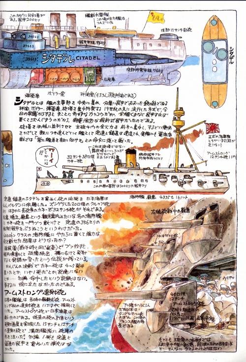6 артбуков Мастера Хаяо Миядзаки в HQ качестве (2 часть) (137 фото)