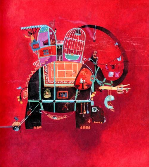 Иллюстраторы - наши современники - французкий художник Rebecca Dautremer (Ребекка Дотремер) (221 работ)