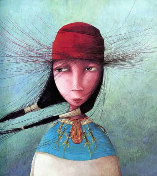 Иллюстраторы - наши современники - французкий художник Rebecca Dautremer (Ребекка Дотремер) (221 фото)