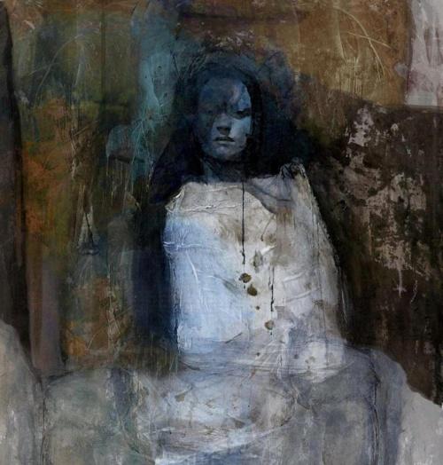 Женские лица. Suhair Sibai (20 работ)