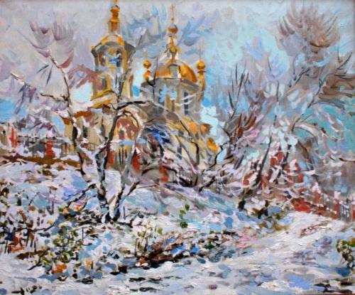 Живописец, график, монументалист. Вячеслав Протопопов (30 фото)