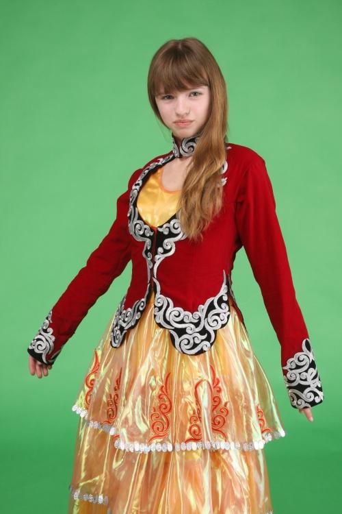 Казахский национальный костюм (14 фото)