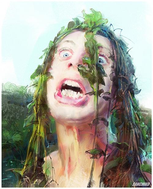 Работы художника - Александр Челышев (Alexander Chelyshev | Sanchiko) (86 работ)