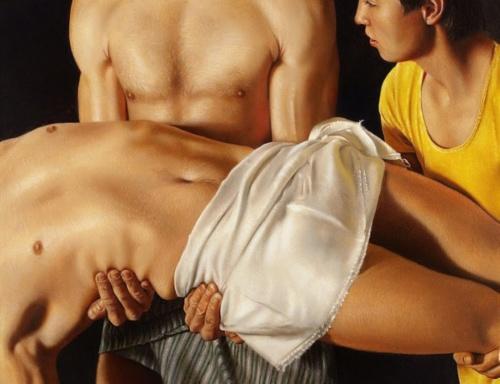 Художник Krzysztof Izdebski-Cruz (20 работ) (эротика)