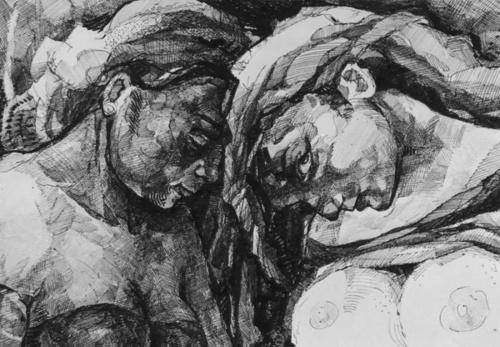 Художница Katarina Alivojvodic (20 работ) (эротика)