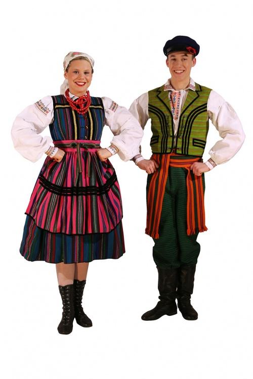 Польский национальный костюм (80 фото)