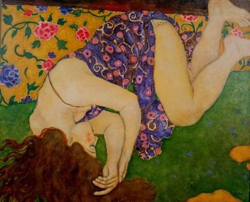 Талантливая китайская художница. Xi Pan (20 работ) (эротика)