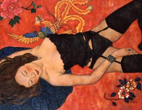 Талантливая китайская художница. Xi Pan (20 фото)