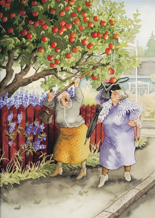 Финский художник Inge Look (Ingeborg Lievonen) | Инге Лук (82 работ)