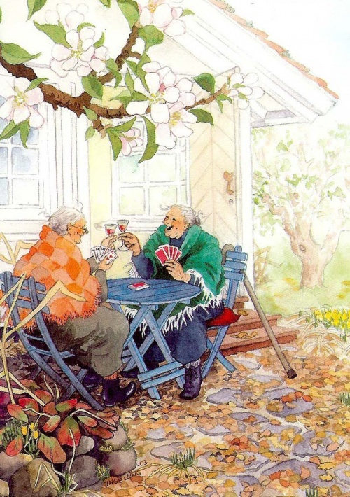 Финский художник Inge Look (Ingeborg Lievonen) | Инге Лук (82 фото)