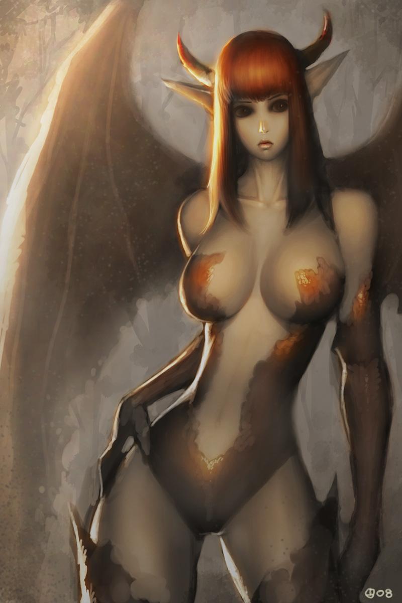 Nude demon art porn scenes