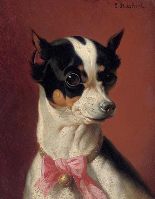 Австрийский художник - анималист Carl Reichert (1836-1918) (30 фото)