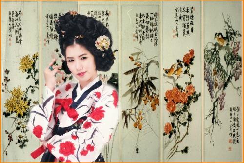 Корейский национальный костюм (74 фото)