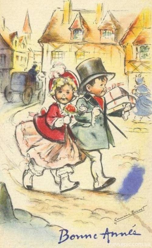 Postcards of the twentieth century - Valentine's Day 7   Открытки ХХ века - День святого Валентина 7 (355 фото)