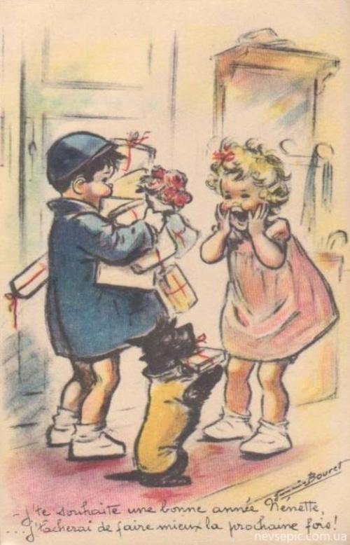Postcards of the twentieth century - Valentine's Day 7 | Открытки ХХ века - День святого Валентина 7 (355 фото)