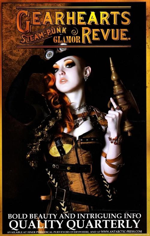 Victorian Secret Girls of Steampunk Winter Catalog (35 фото)