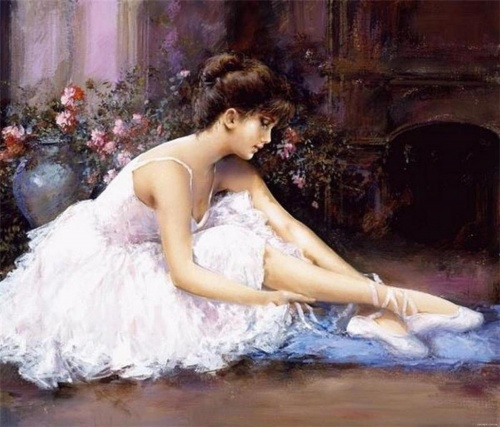 Романтический реализм. Lucia Sarto (20 работ) (эротика)