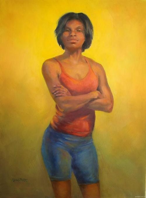 Американская художница Karol Tucker (20 фото)