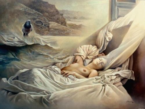 Испанский художник-сюрреалист. Alberto Pancorbo (19 фото)