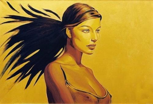 Художница Fattah Hallah Abdel (20 работ) (эротика)