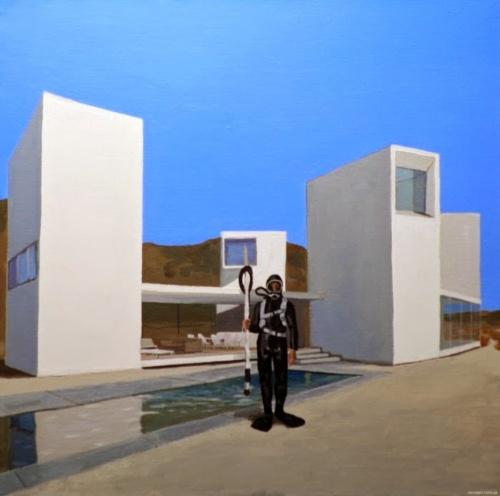 Австрийский художник. Wolfgang Dieter Bauer (20 работ)