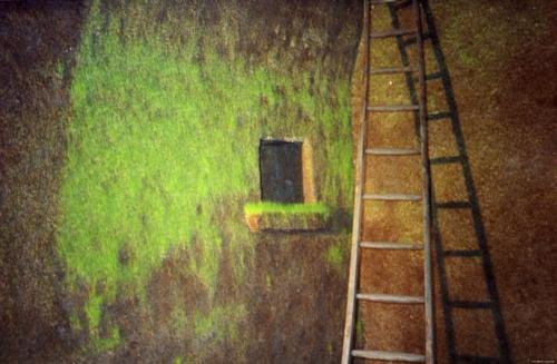 Удивительные портреты из травы и масштабные вертикальные газоны... Ackroyd & Harvey (43 фото)