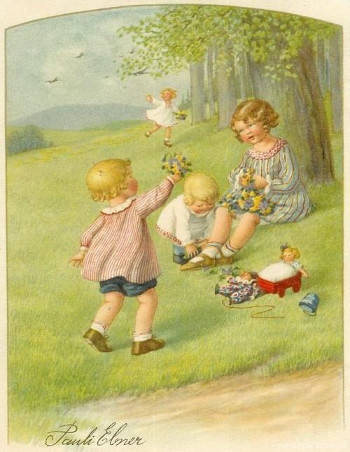 Postcards and Illustrations Pauli Ebner | Открытки и иллюстрации Паули Эбнер (354 фото)