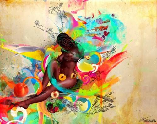Цифровая живопись. Archan Nairo (20 работ)
