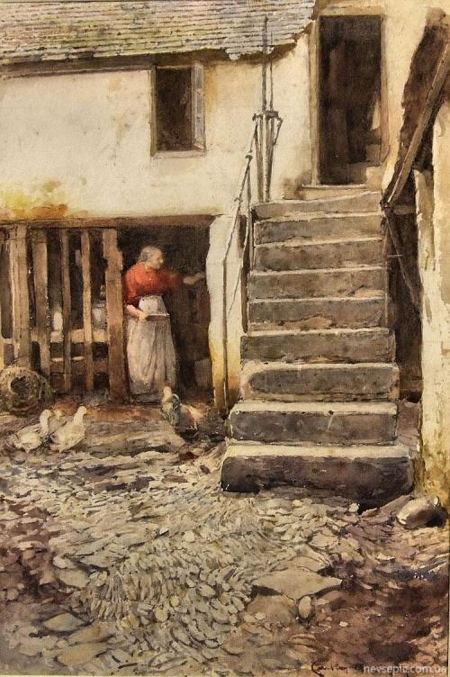 Английский художник Carlton Alfred Smith (1853-1946) (56 работ)