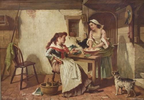 Английский художник Carlton Alfred Smith (1853-1946) (56 фото)