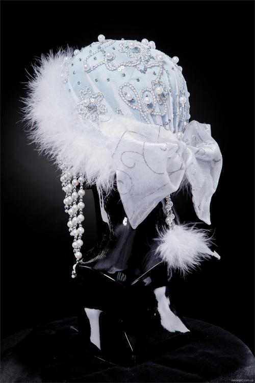 Фотосет головных уборов для Снегурочки (15 фото)