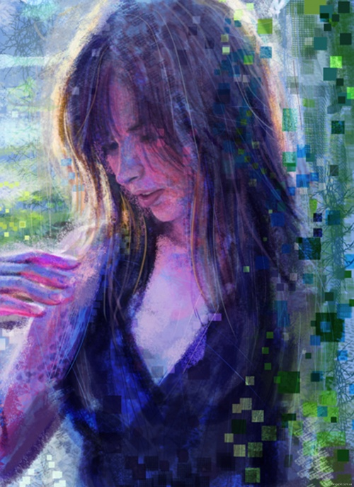 Работы художника - Jessica Salehi (49 фото)