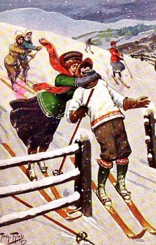 Немецкий художник Carl Robert Arthur Thiele часть 1 (262 работ)