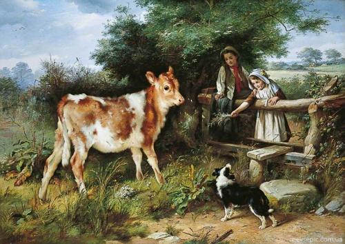 Английский художник Walter Hunt (1861-1941) (38 работ)