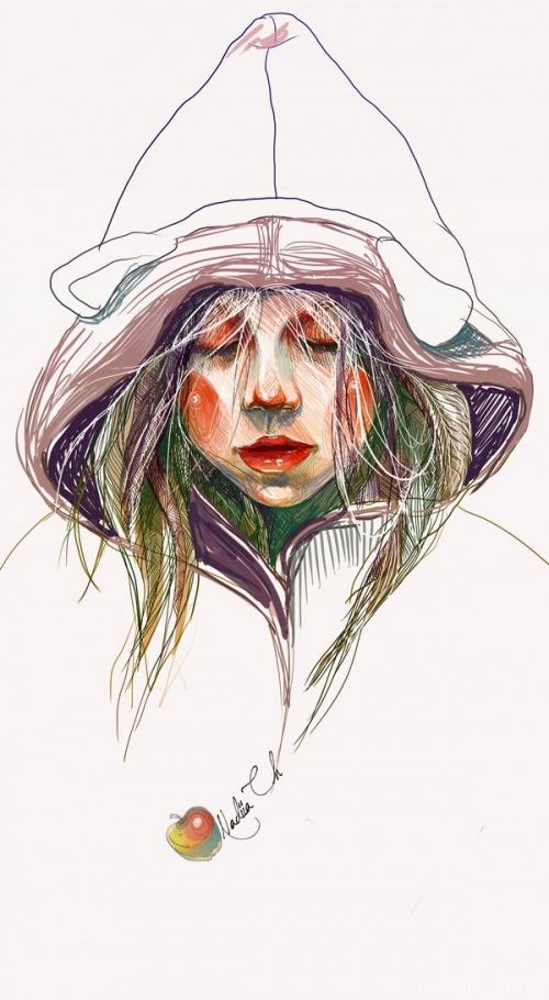 Коллекция работ украинской художницы Надии Черкасовой (131 фото)