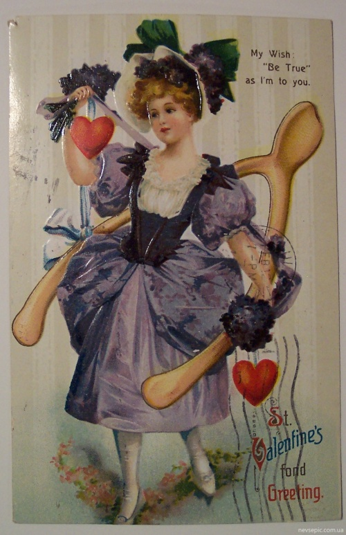 Postcards of the twentieth century - Valentine's Day 6  Открытки ХХ века - День святого Валентина 6 (296 фото)