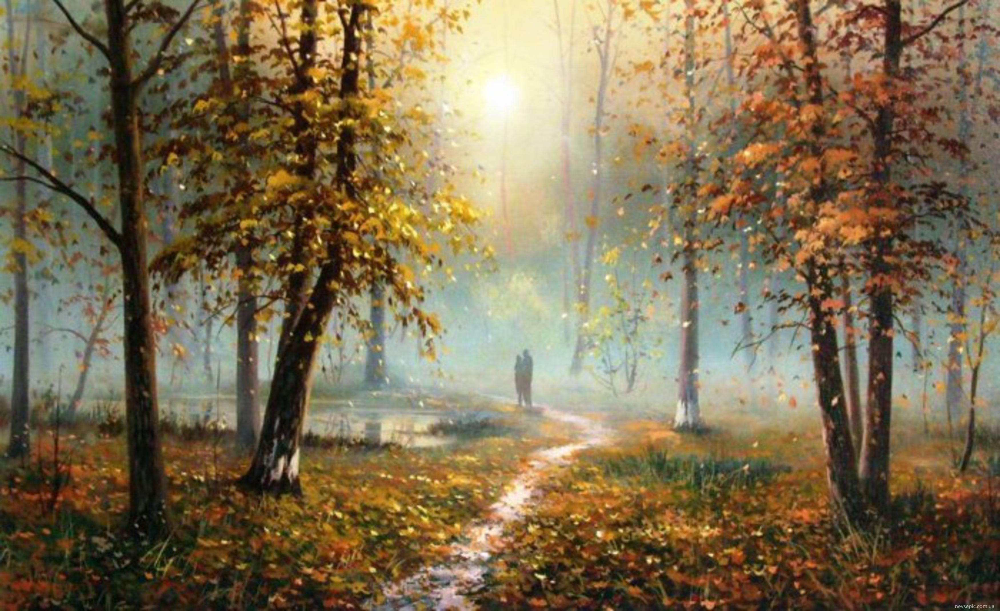 фото эротика лес