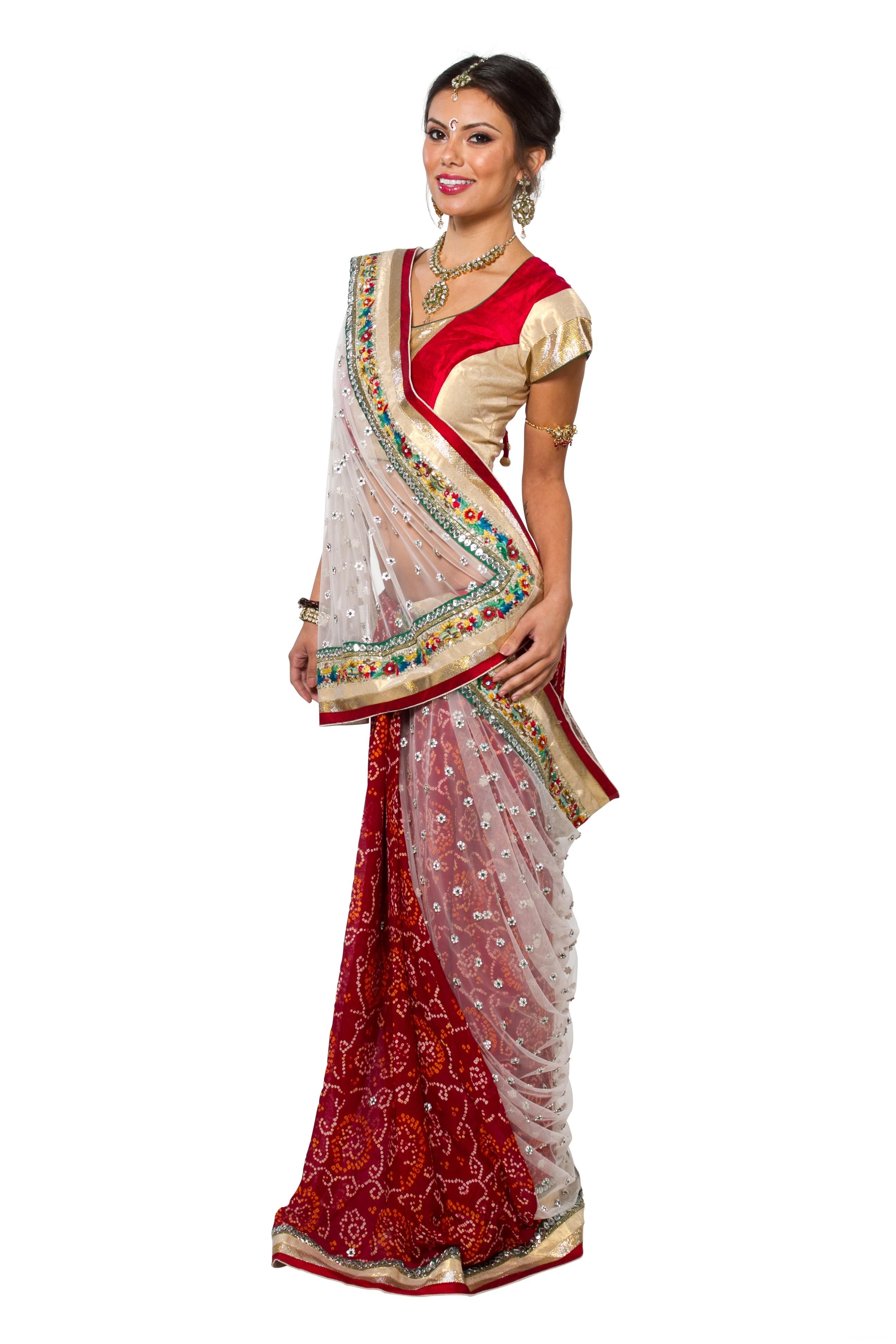 Индийский Женский Национальный Костюм