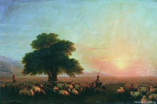 Работы художника - Айвазовский Иван Константинович (534 фото)