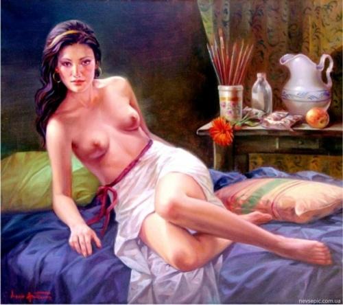 Художник Amitrano Lucio (38 работ) (эротика)