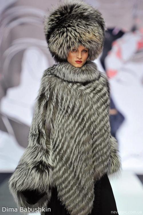 Фотосет меховых нарядов от Игоря Гуляева (51 фото)