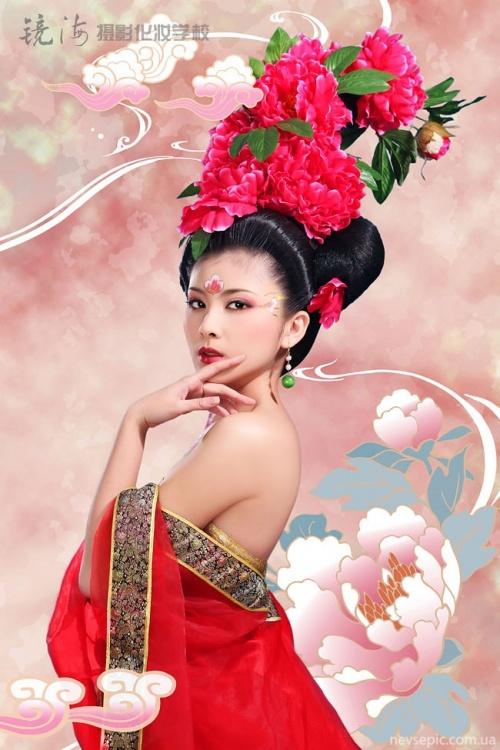 Китайский национальный костюм 2 (8 фото)