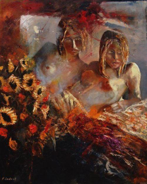 Художник Pol Ledent (81 работ) (эротика)