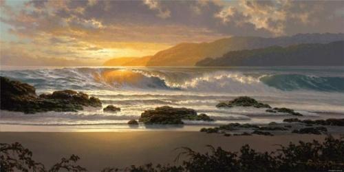 Roy Tabora. Морские пейзажи (19 работ)