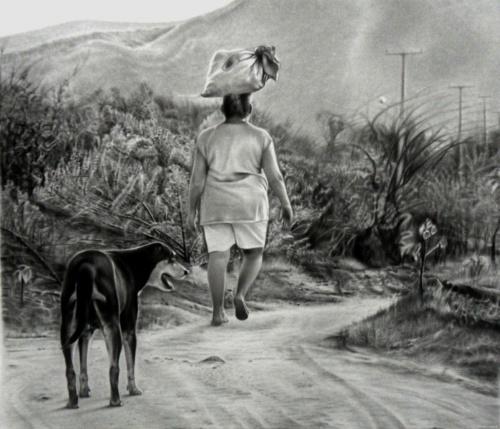 Рисунки карандашом. Diogenes Dantas (16 фото)